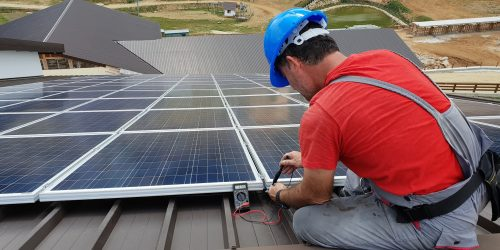 Installation Renewable Technician Solar Panel