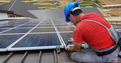 Installation Renewable Technician Solar Panel